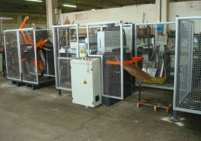 TROWEL PRODUCTION SHEARING LINE